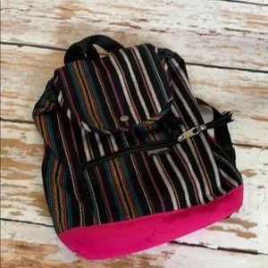"Jansport mini ""ABBIE"" backpack. Cute!"